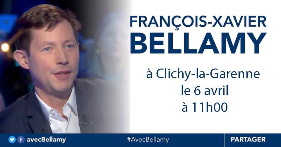 FX Bellamy A Clichy Le 6 Avril