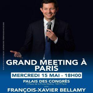 Européennes – Grand Meeting National De François-XavierBellamy